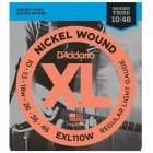 D'Addario EXL110W 010 - 046 string set for electric guitar, pack of 3
