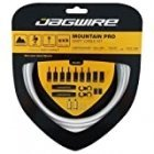 Jagwire Mtn Pro cable and shell set, white