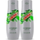 Sodastream Mountain Dew Diet 440 ml soft drink concentrate, 2-PACK