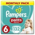 Pampers Pants Boy/Girl 6 132 pc(s)