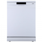 Gorenje Dishwasher GS620E10W Free standing, Width 85 cm, Number of place settings 14, Number of programs 4, Energy efficiency cl