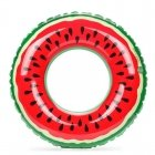 Inflatable ring, watermelon