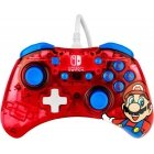 PDP Rock Candy Wired Controller, Switch, Mario