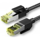 UGREEN NW150 Cat 7 F / FTP Braid Ethernet RJ45 Cable 1m (black)