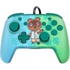 PDP Faceoff Deluxe + Audio Wired Controller, Tom Nook Game Controller, Switch