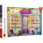TREFL Puzzle 500 Candy Store