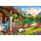 TREFL Puzzle 500 Cabin in the mountains