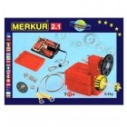 Merkur 2.1 Retro Dad's Educational Metal Construction - Electro set Engine for Cars and Mechaisms