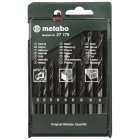 Mixed drill set 9 pieces, (wood / met / bet), Metabo