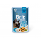 Brit Premium Delicate canned food for cats Chicken in Gravy 24x85g (package)